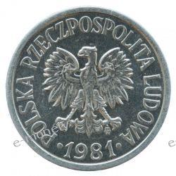 20 groszy 1981 rok mennicze Monety groszowe