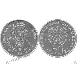50 zł Bolesław II Śmiały 1981 mennicza