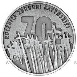 10 zł 70 Rocznica Zbrodni Katyńskiej 2010