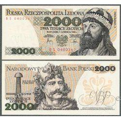 Polska 2000 ZŁOTYCH 1982