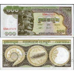Kambodża 100 RIELS 1957-75