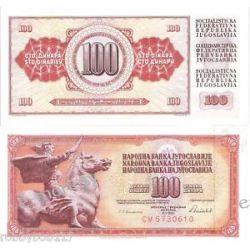Jugosławia 100 DINARÓW1978