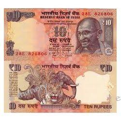 Indie 10 RUPEES 2011