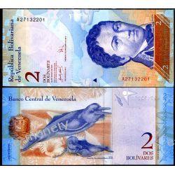 Wenezuela 2 BOLIVARES 2007