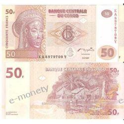 Kongo 50 FRANCS 2007