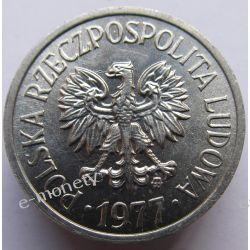 10 Groszy 1977 mennicza Monety groszowe