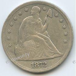 One Dollar 1872