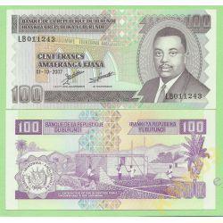 Burundi 100 FRANC 2007