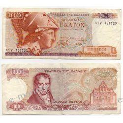 Grecja 100 DRAHMAI 1978