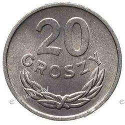 20 groszy 1985 mennicza Monety groszowe