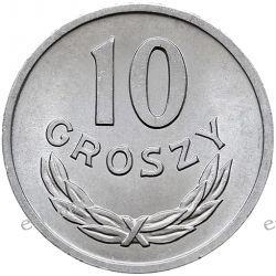 10 groszy 1985 mennicza Monety groszowe