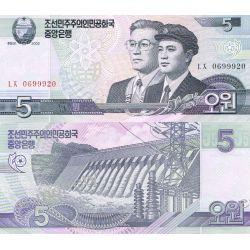 Korea Północna 5 WON 2002