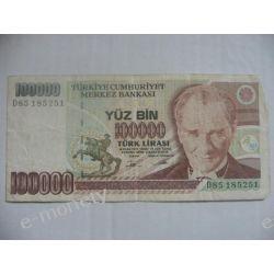 Turcja 100 000 LIRASI 1970