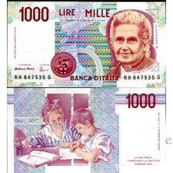 Włochy 1000 LIRÓW 1990