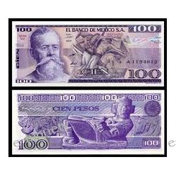 Meksyk 100 PESOS 1982