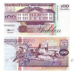 Surinam 100 GULDENÓW 1998