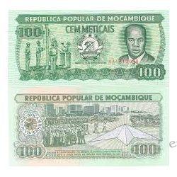Mozambik 100 METICAIS 1983