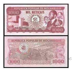 Mozambik 1000 METICAIS 1989