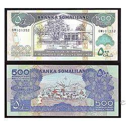 Somaliland 500 SHILINGS 2006