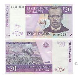 Malawi 20 KWACHA 2009