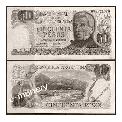 Argentyna 10 PESOS 1978