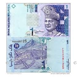 Malezja 1 RINGGIT 2000
