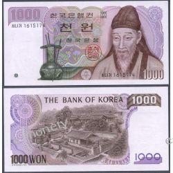 Korea Południowa 1000 WON 1983