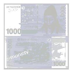 Korea Południowa 1000 WON 2007