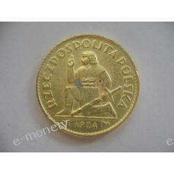 50 złotych 1924 Klęczący Rycerz - Złota