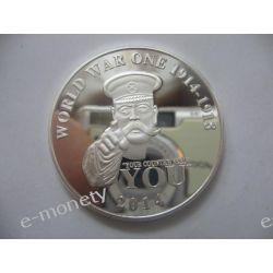 Medal Moneta WORLD WAR 2014