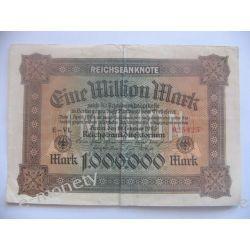 Niemcy 1 milion MAREK 1923