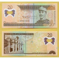 Dominikana 20 PESOS  2009