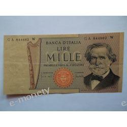 Włochy 1000 LIRÓW 1969