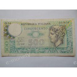 Włochy 500 LIRÓW 1976