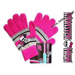 Monster High wełniane rękawiczki  ZIMA