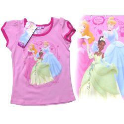 Księżniczki Princess bluzka różowa 134 cm Disney Rozmiar 134