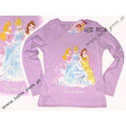 Księżniczki Princess Bluzka Disney Lila 134 CM Rozmiar 134