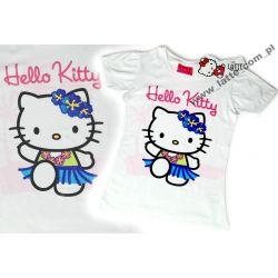 Hello Kitty bluzka 134 cm Sanrio BAWEŁNA Rozmiar 134