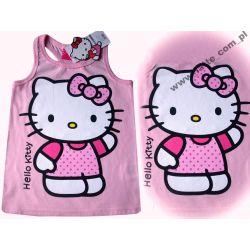 Hello Kitty bluzka 134cm BAWEŁNA SANRIO Rozmiar 134