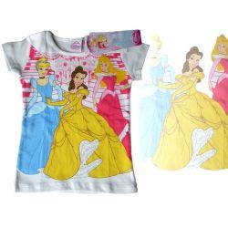 Księżniczki Princess bluzka biała 134 cm Disney Rozmiar 134