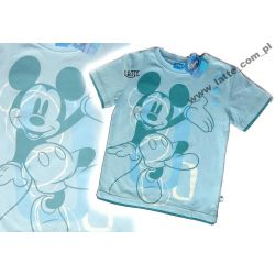 Mickey Mouse Myszka Miki T-shirt Disney BLUE 146cm