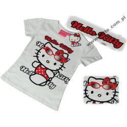 Hello Kitty bluzka biała 104-110 cm Sanrio PREZENT