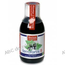 Żelazo roślinne w syropie - Fin Ferrofortis B