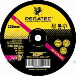 "TARCZE TNĄCE ""PEGATEC"">230x6.0x22.2 METAL - DO SZLIFOWANIA"