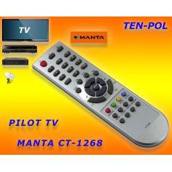 PILOT DO TV MANTA 2001 TYP CT1268 - ZAMIENNIK -