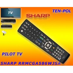 PILOT DO TV SHARP RRMCGA586WJSA - RRMCGA538WJSA