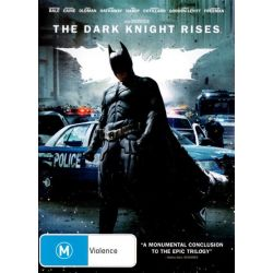 The Dark Knight Rises on DVD.