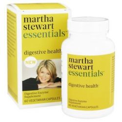 Martha Stewart Essentials Digestive Health 60 Vegetarian Capsules