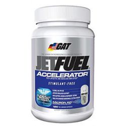 GAT Jetfuel Accelerator Stimulant Free 120 Capsules CLEARANCE Priced