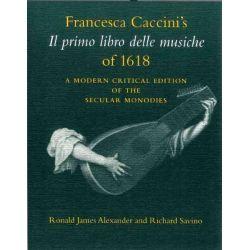Booktopia eBooks - Francesca Caccini's Il Primo Libro Delle Musiche of 1618, A Modern Critical Edition of the Secular Monodies by Francesca Caccini. Download the eBook, 9780253110091.